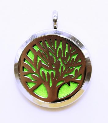 silver tree green back