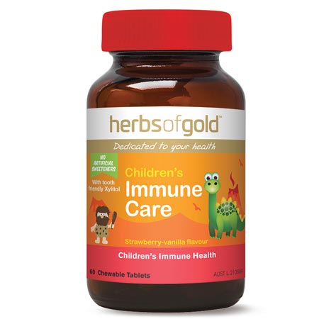 Herbs of Gold Children's Immune Care (60 Chewable tablets)