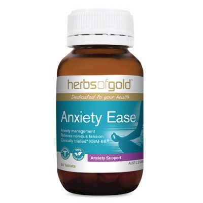 Herbs of Gold - Anxiety Ease (60 tablets)