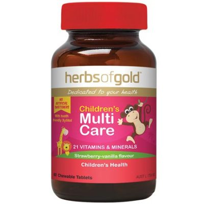 Herbs of Gold Children's Multi Care (60 chewable tablets)