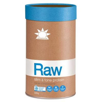 Amazonia Raw Slim and Tone Protein (Cacao + Macadamia)