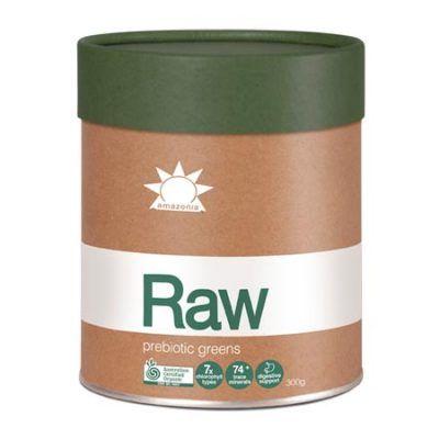 Amazonia Raw Prebiotic Greens (120g/300g)