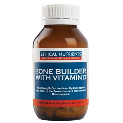 Ethical Nutrients Bone Builder with Vitamin D (60/120 tablets)