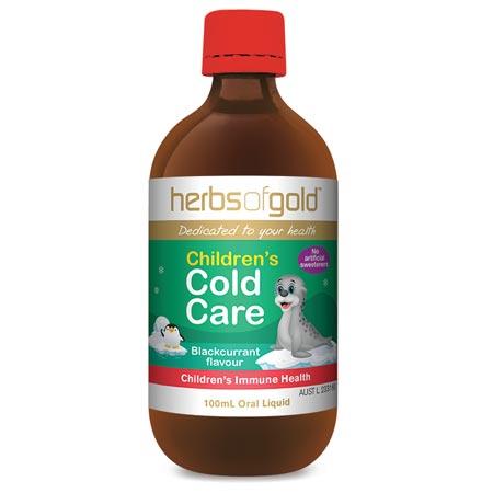 Herbs of Gold Children's Cold Care (100ml liquid)