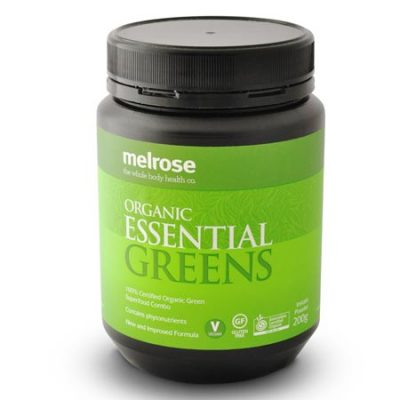 Melrose Organic Essential Greens Powder (200g)