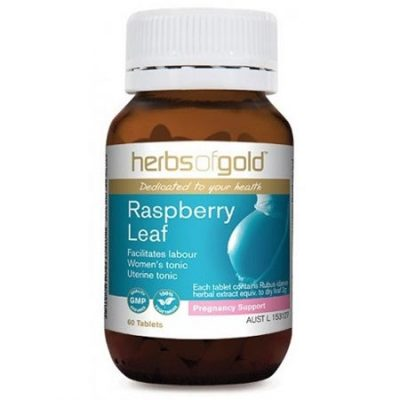 Herbs of Gold Raspberry leaf (60 tablets)