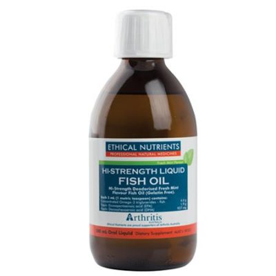 Ethical Nutrients Hi-Strength Fish Oil (170ml)